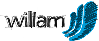 A sketched version of the Wiliam logo